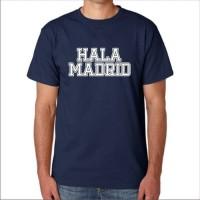 New KAOS T-SHIRT DISTRO HALA MADRID Termurah