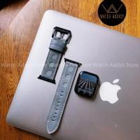 Strap apple watch iwo genuine leather tali jam tangan kulit asli