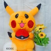 Boneka Pikachu Ukuran M SNI