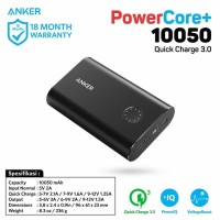 Powerbank Anker PowerCore+ 10050 mAh Quick Charge 3.0 Power Bank