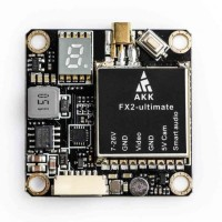 AKK FX2 Ultimate MMCX VTX 25mW-1200mW Switcher Smart Audio