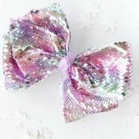 Reversible Sequin Jojo Bow. Pita Jojo Siwa Sequin manik