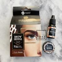 Mayamy Brow Henna Pigment Ink Henna Alis Starter Kit Classic Brown