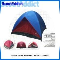 Tenda Dome Co-Trek Montana 4 Orang
