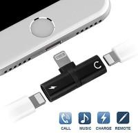 Lightning Splitter Metal iPhone Adapter Konektor Charging & Music