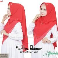 Khimar Martha Payet Berlian Original by Danisha Hijab Brand Murah