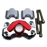 9140-COVER RISER CNC + JAM - RED SILVER