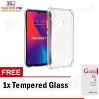 Case Anti Crack Softcase Xiaomi Redmi Note 7 - Free Tempered Glass