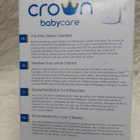 Crown sterillizer isi 3 botol/steril botol crown
