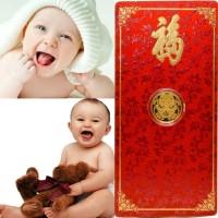 Tiaria Special Gold Coin Baby Luck Gold Bar 24K Logam Mulia Emas Murni