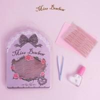 Miss Bowbow Premium Invisible Eyelid Tape Purple Size L Sensitive Skin