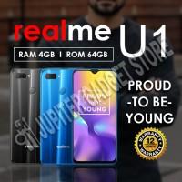 Realme U1 4/64 GB Dual Rear Camera - Original Garansi Resmi