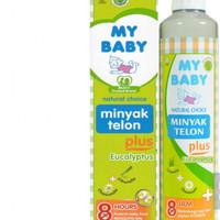 RAJASUSU/MY Baby Minyak telon plus 150 ml