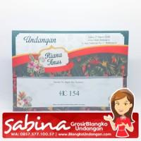 Blangko Undangan HC 154   Sabina Undangan