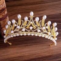 Mahkota rambut tiara wedding crown rambut pesta pengantin CC0206