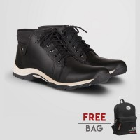 Sepatu Kasual Pria S. Van Decka T-WR022 Free Tas Ransel