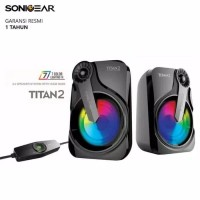 Speaker Sonicgear Titan 2 Garansi 1 Tahun Semarang