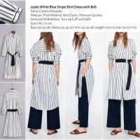 Jual Stripe Dress - Harga Terbaru 2019 | Tokopedia