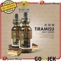 Authentic TIRAMISU 60ml By Emkay Brewer- Liquid Vape Tiramisu Cream
