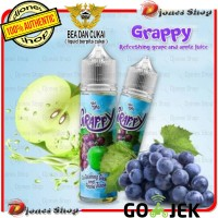 Authentic GRAPPY 60ml By Emkay Brewer - Refreshing Grape & Apple Juice