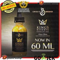 Authentic KINGS REVERSE 60ml By Emkay Brewer- King Reserve Nutty Mocha
