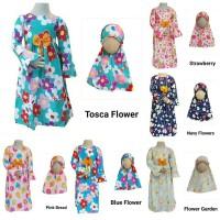 Gamis Anak Katun Catra Size 10-12   Dress Anak   Dress Muslim Anak