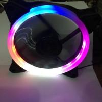 Fan Casing 12cm Jertech 1 Ring Rainbow