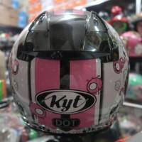 PROMO Helm Half Face KYT DJ MARU 05 Retro Pink MNMZ