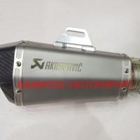 Knalpot Akrapovic Grade Ori For Nmax-Xmax-Aerox 155-R15-PCX 150-GSX