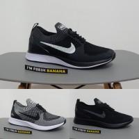 ce32609f684b4 Sepatu Running Nike Air Zoom Mariah Flyknit Racer Black White