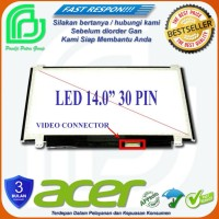 Terpopuler LCD LED 14.0 slim 30 pin Laptop Acer One 14 Z1402 Series