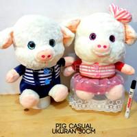 Jual Boneka Bantal Lucu Boneka Animasi Boneka Pig Dres Couple Import Jakarta Barat Cersei Official Tokopedia