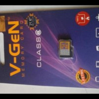 Terjamin Memory Card 16Gb Mmc V-Gen Memori Vgen V Gen Asli 16 Gb Micro