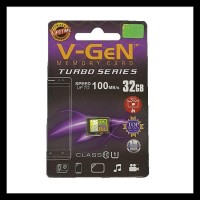 Termurah V-Gen Micro Sd Vgen 32Gb Class 10 Turbo Series Memory Card Hp