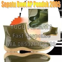 Baru Sepatu Boot Ap Pendek 2005 Baik Untuk Wanita Boots Anti Air Karet