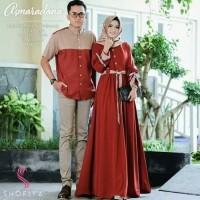 Gamis Couple Muslim/Asmaranda couple