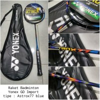 Raket Badminton bulutangkis Yonex astrox77 blue