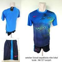 Kostum baju setelan futsal sepakbola Nikee Nk137 turqish