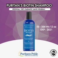 Biotin Shampoo Puritan's pride 354ml (12fl oz) Made in USA ORIGINAL