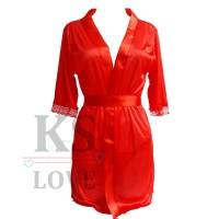 Harga baju tidur wanita model jubah kimono seserahan | antitipu.com