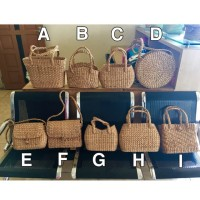 Ready! Tas Eceng Gondok Ilung Water Hyacinth Bag Seagrass Bag