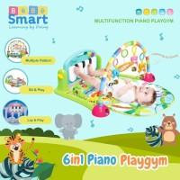 Bebe Smart 6in1 Piano Playmat - Mainan Musik Bayi