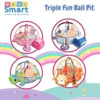 Bebe Smart Triple Fun Ball Pit - Playmat Bayi