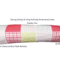 Sarung Guling 100%cotton lady americana king koil/hotel besar