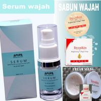 Serum - cream siang - sabun Liyoskin