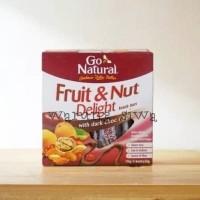 sereal snack bar Go natural fruits & nut delight 175 gr(5x35 gram)