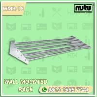 Rak Dinding Dapur Stainless 1.8 Meter | Wall Mounted Rack Mutu WMR-18