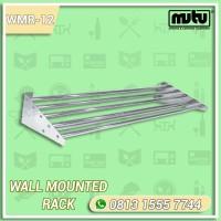 Rak Dinding Peralatan Dapur 1.2 Meter | Wall Mounted Rack Mutu WMR-12
