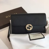 4731a5cb52 TAS GUCCI ORIGINAL - GUCCI WOC INTERLOCK BLACK c