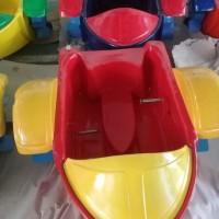Jual murah odong Hand boat sepeda Perahu Dayung Fiber glass